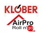 Klober airpro Roll n'go logo
