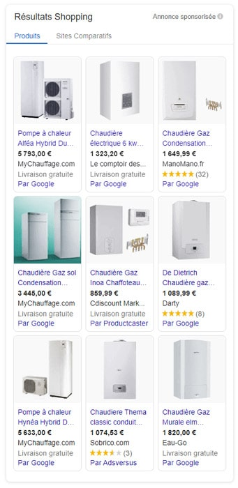 google-shopping-genie-climatique