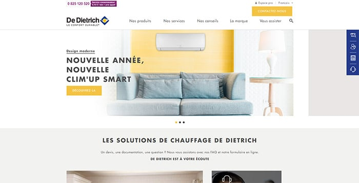 site-web-genie-climatique-de-dietrich