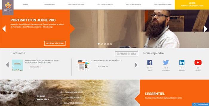 site-web-isolation-filmm