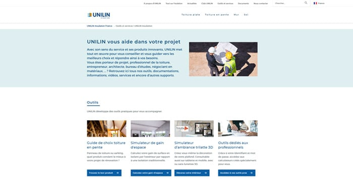 site-web-isolation-unilin