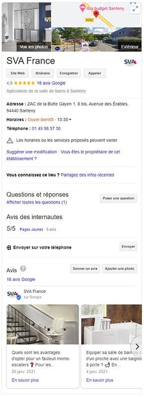 google-my-business-salle-de-bains