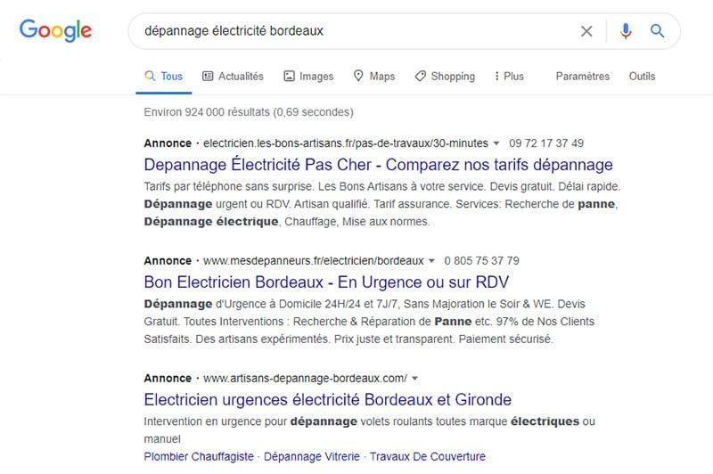 googleads-depannage-electricite