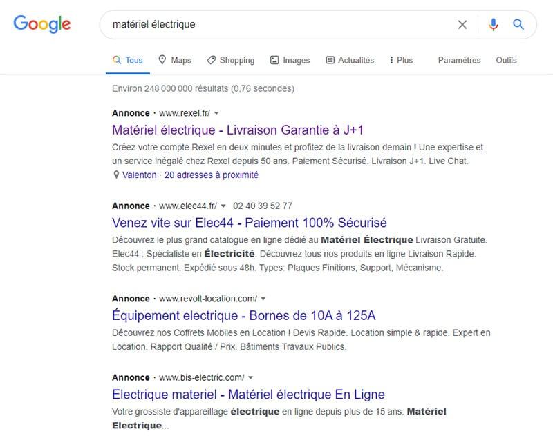 googleads-electricite