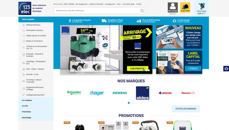 site-web-electricite-123elec