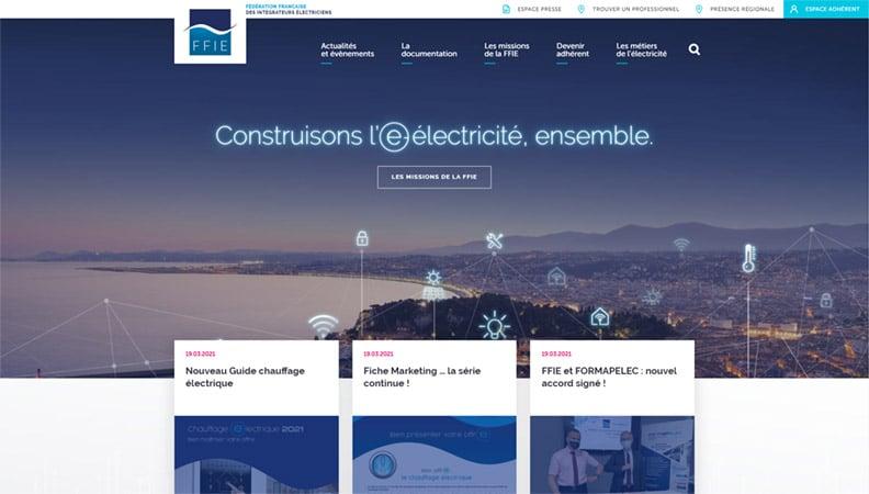 site-web-electricite-ffie