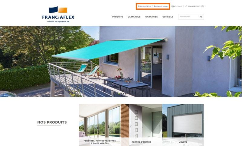 site-web-fermeture-franciaflex