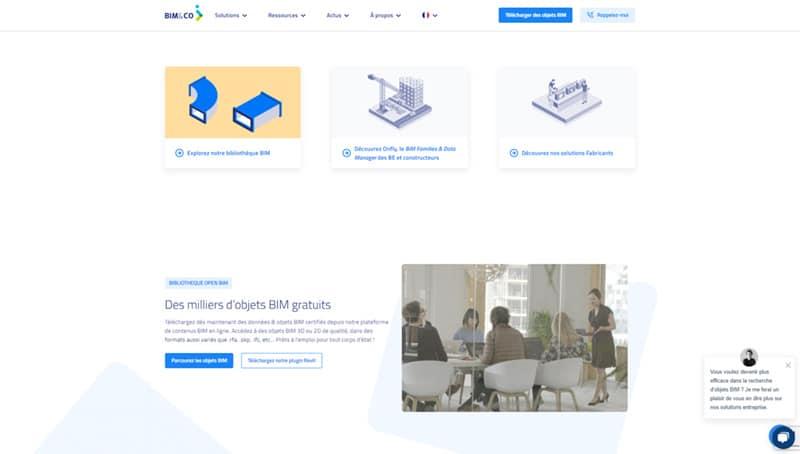 site web de Bim&Co