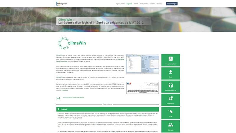 Site web de Climawin